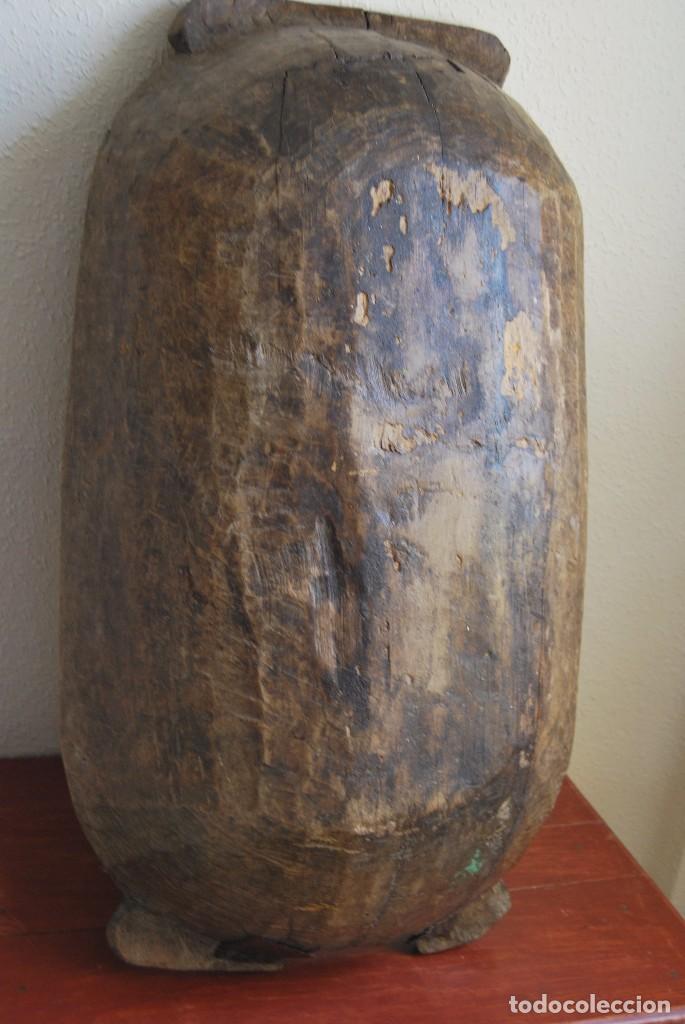 Antigüedades: ARTESA DE MADERA DE UNA SOLA PIEZA - PARA PAN O MATANZA - SIGLO XIX - ETNOGRAFÍA - Foto 8 - 90626615