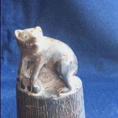 Antigüedades: SELLO CHINO EN CUERNO DE BUFALO. Lote 90655120