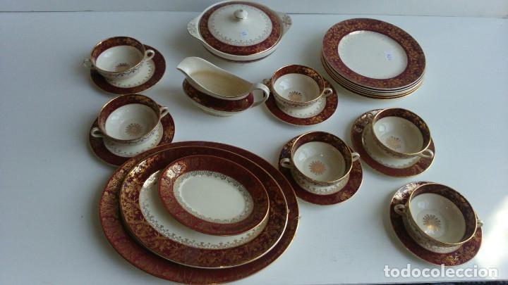VAJILLA PORCELANA INGLESA (Antigüedades - Porcelanas y Cerámicas - Inglesa, Bristol y Otros)
