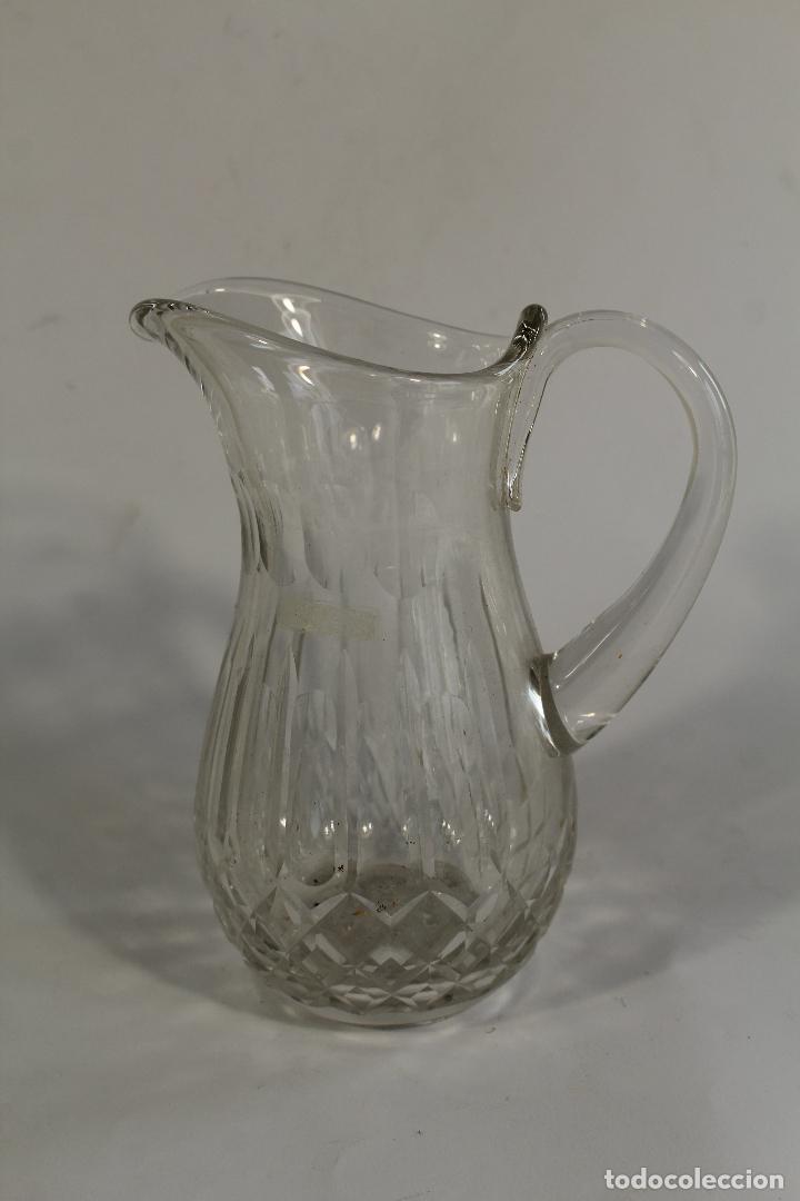 Antigüedades: jarra en cristal de bohemia - Foto 3 - 90751085