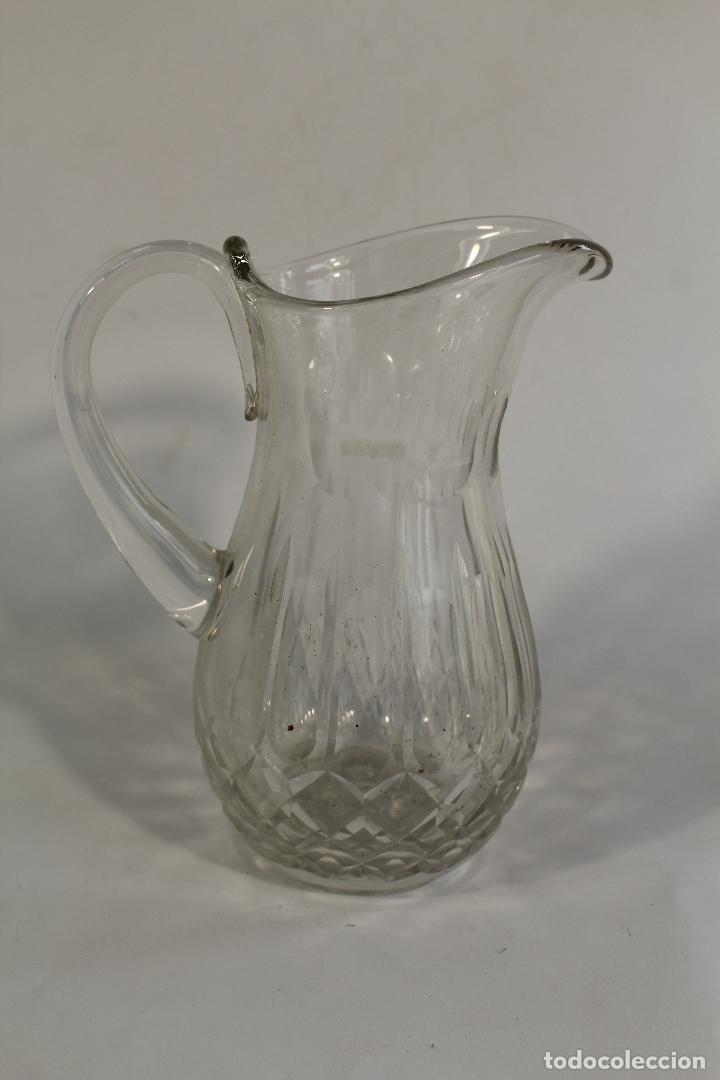 Antigüedades: jarra en cristal de bohemia - Foto 4 - 90751085