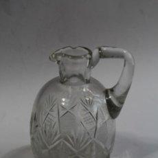 Antigüedades: JARRA EN CRISTAL DE BOHEMIA. Lote 90752180