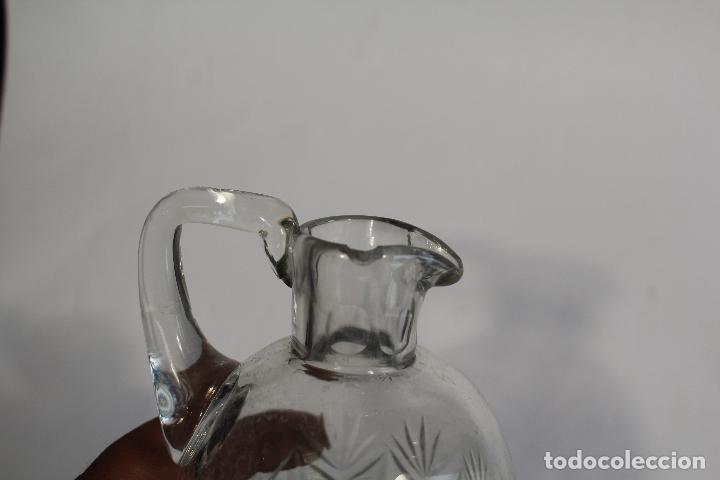 Antigüedades: jarra en cristal de bohemia - Foto 3 - 90752180