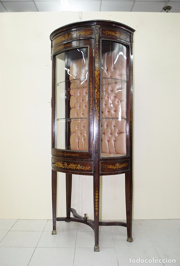 VITRINA ANTIGUA ESTILO IMPERIO (Antigüedades - Muebles Antiguos - Vitrinas Antiguos)