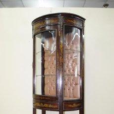 Antigüedades: VITRINA ANTIGUA ESTILO IMPERIO. Lote 89376856