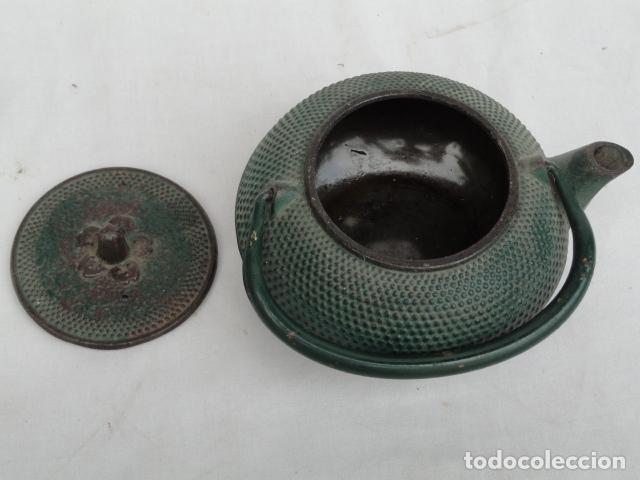 Antigüedades: BONITA TETERA DE HIERRO. - Foto 7 - 90826280