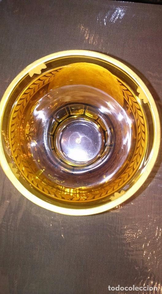 Antigüedades: Vaso de cristal de Bohemia Siglo XIX, hacia 1840 - Foto 5 - 90921300