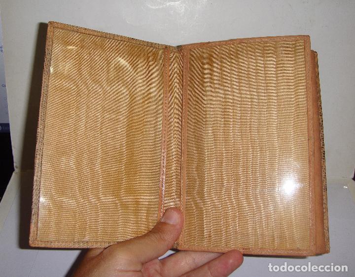 Antigüedades: CARTERA DE PIEL DE SERPIENTE (100% autentica) - AÑOS 50 - CONSERVA LA CAJA (SIN ESTRENAR) - Foto 7 - 33851443