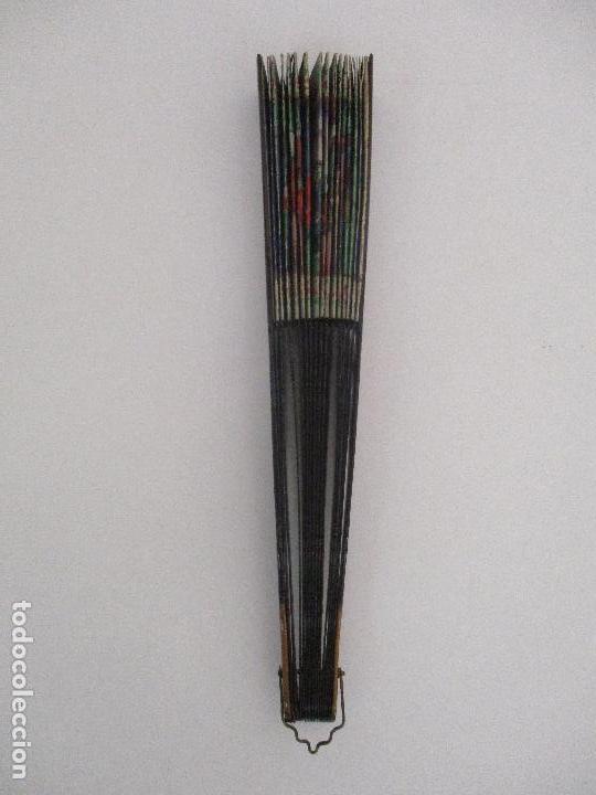 Antigüedades: Precioso Abanico de las Mil Caras - China - Caras en Marfil - Vestidos Seda - Dinastía Qnig - S. XIX - Foto 29 - 90980015