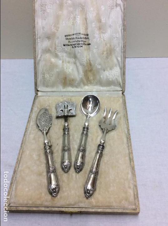 Juego de cubiertos para servir postres plata d comprar for Cubiertos de plata precio