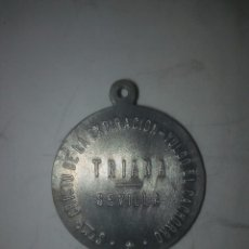 Antigüedades: TRIANA, SEVILLA. ANTIGUA MATRIZ PROTOTIPO MEDALLA CRISTO EXPIRACIÓN EL CACHORRO. Lote 91209340