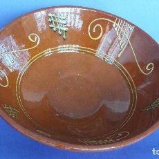 Antigüedades: GRAN PLAT FONDO.. Lote 91229640