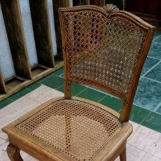 Antigüedades: ANTIGUA SILLA DE MADERA RESTAURADA. PERFECTA.. Lote 91260265