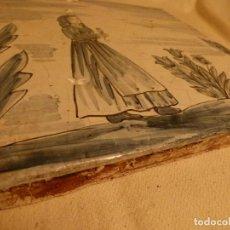 Antigüedades: BALDOSA CATALANA OFICIOS. Lote 91275170