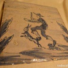 Antigüedades: BALDOSA CATALANA OFICIOS. Lote 91275315