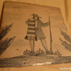 Antigüedades: BALDOSA CATALANA OFICIOS. Lote 91275600