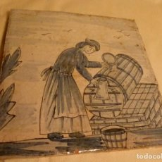 Antigüedades: BALDOSA CATALANA OFICIOS. Lote 91275840