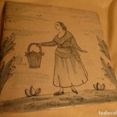 Antigüedades: BALDOSA CATALANA OFICIOS. Lote 91276015