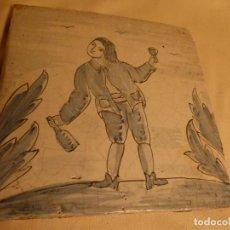 Antigüedades: BALDOSA CATALANA OFICIOS. Lote 91276365