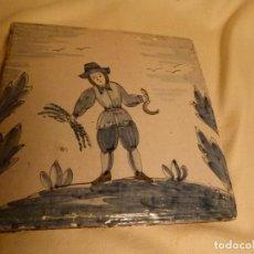 Antigüedades: BALDOSA CATALANA OFICIOS. Lote 91276595