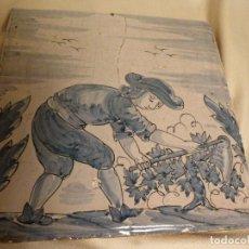 Antigüedades: BALDOSA CATALANA OFICIOS. Lote 91276765