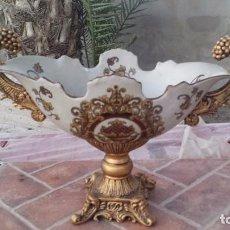 Antigüedades: PRECIOSO CENTRO DE MESA DE CERAMICA. Lote 115025506