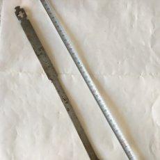 Antigüedades: ESPUMADERA EN METAL PARA COCINAR PAELLAS (H.1950?). Lote 91367714