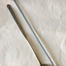 Antigüedades: ESPUMADERA EN METAL PARA COCINAR PAELLAS (H.1940?). Lote 91368109