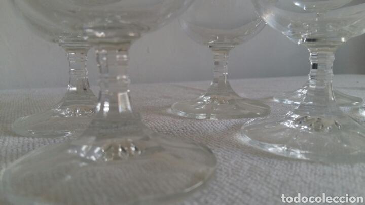 Antigüedades: (Sevilla) 6 Copas Cristal BOHEMIA. Cerveza - Foto 2 - 91393077