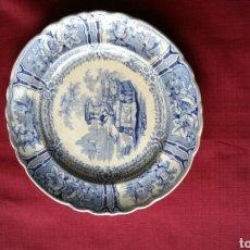 Antigüedades - Plato sargadelos antiguo serie góndola - 91459023