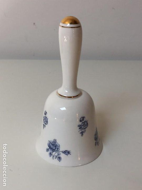 Antigüedades: CAMPANA DE SOBREMESA, PORCELANA INGLESA - FINE BONE CHINA, GORRINGES - Foto 2 - 91515300