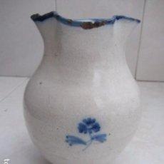 Antigüedades: JARRA TALAVERA SIGLO XIX. Lote 91357915