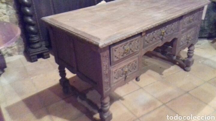 MESA DE DESPACHO ESCRITORIO (Antigüedades - Muebles Antiguos - Escritorios Antiguos)
