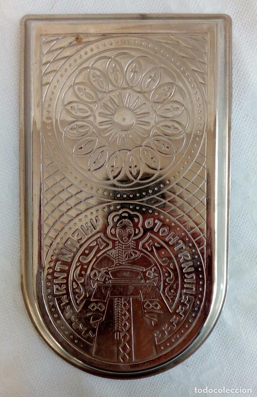 Antigüedades: SAMOVAR ELÉCTRICO RUSO CON BANDEJA Y TETERA. - Foto 13 - 91603270