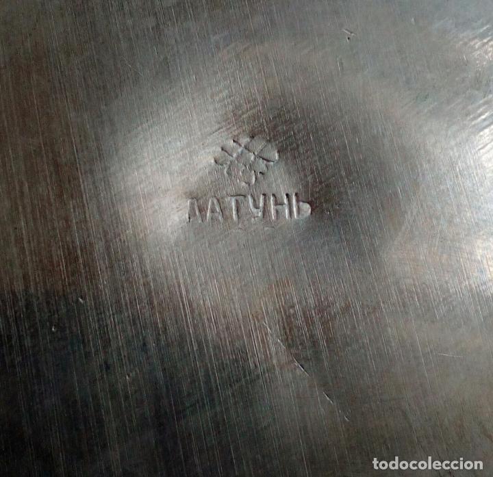 Antigüedades: SAMOVAR ELÉCTRICO RUSO CON BANDEJA Y TETERA. - Foto 17 - 91603270
