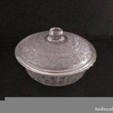 Antigüedades: AZUCARERO CRISTAL TALLADO. Lote 91615790