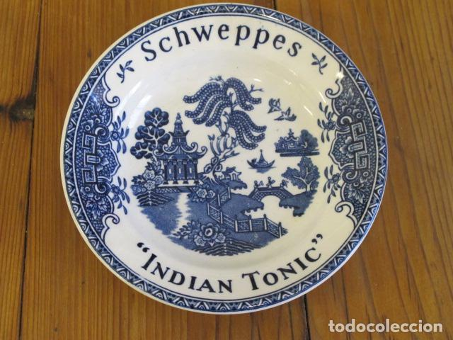 Antigüedades: Pequeño plato Wedgwood & Co. England. Pone Schweppes, Indian Tonic - Foto 1 - 91659530