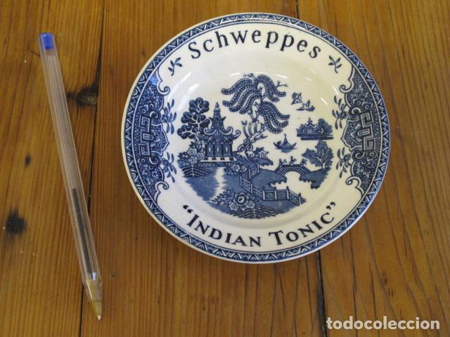Antigüedades: Pequeño plato Wedgwood & Co. England. Pone Schweppes, Indian Tonic - Foto 2 - 91659530