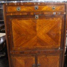 Antigüedades: MUEBLE SECRETER DE MADERA, LOUIS XV. S.XVIII.. Lote 91708255