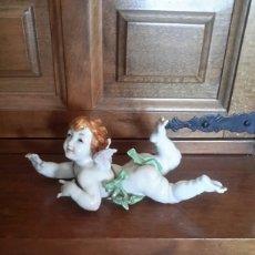 Antigüedades: ANGELITO DE PORCELANA DE ALGORA . Lote 91714547