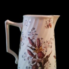 Antigüedades: ANTIGUA JARRA DE LUNEVILLE CAMPANULE, MARCAS, IMPECABLE.. Lote 91721310