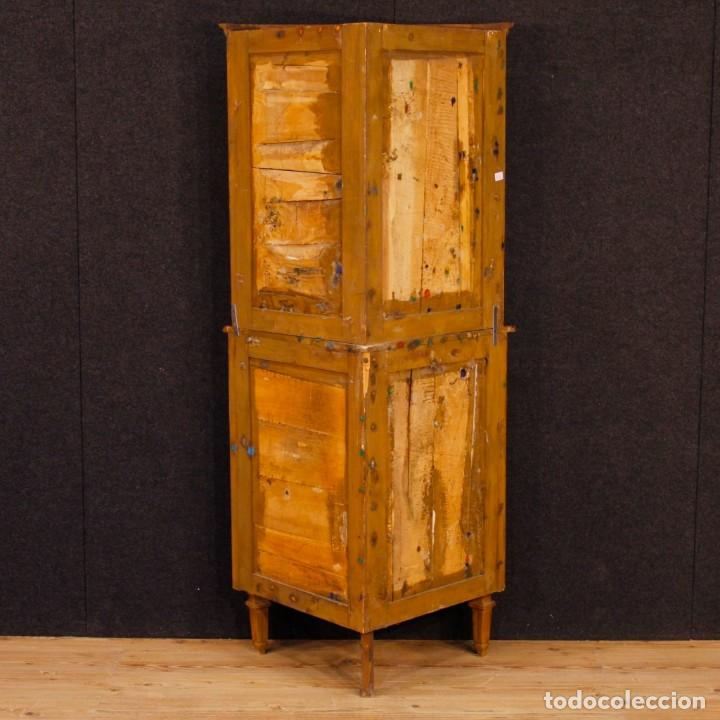 Antigüedades: Cantonera italiana de nuez de estilo Luis XVI - Foto 4 - 91725915