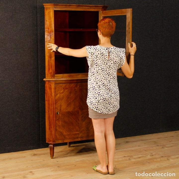 Antigüedades: Cantonera italiana de nuez de estilo Luis XVI - Foto 11 - 91725915