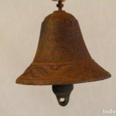 Antigüedades: CAMPANA DE HIERRO. Lote 91782785