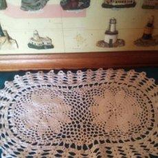 Antigüedades: TAPETE DE GANCHILLO. Lote 91820420