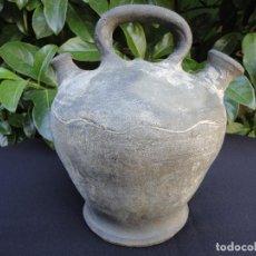 Antigüedades: ALFARERÍA CATALANA: BOTIJO (CÀNTIR) DE SANT CELONI. Lote 91827810