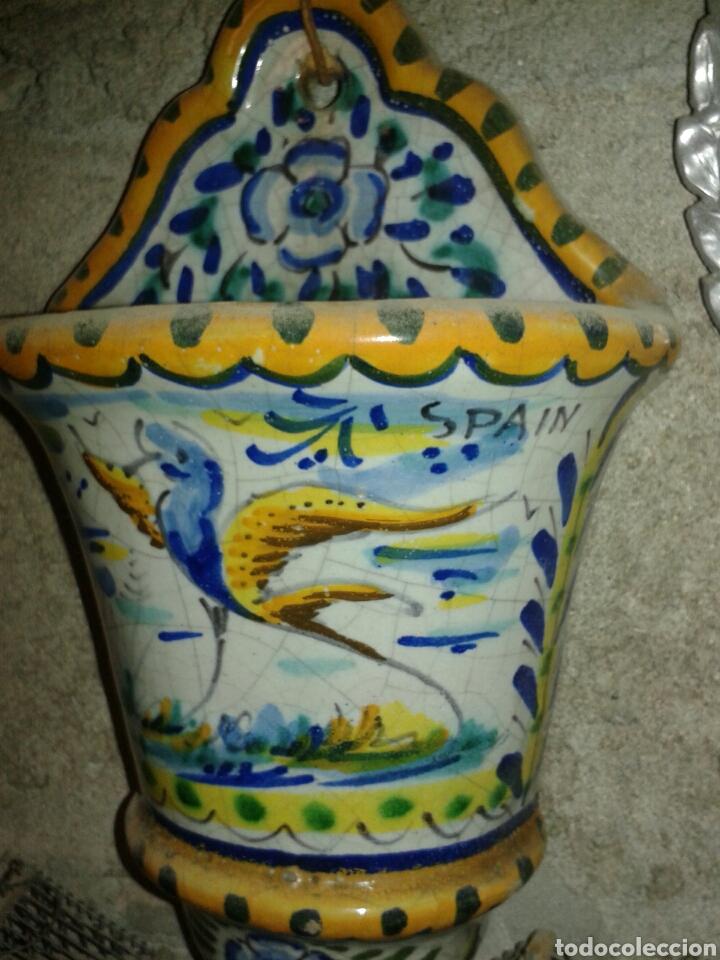 Antigüedades: MACETA CERAMICA DE TRIANA - Foto 2 - 91867235