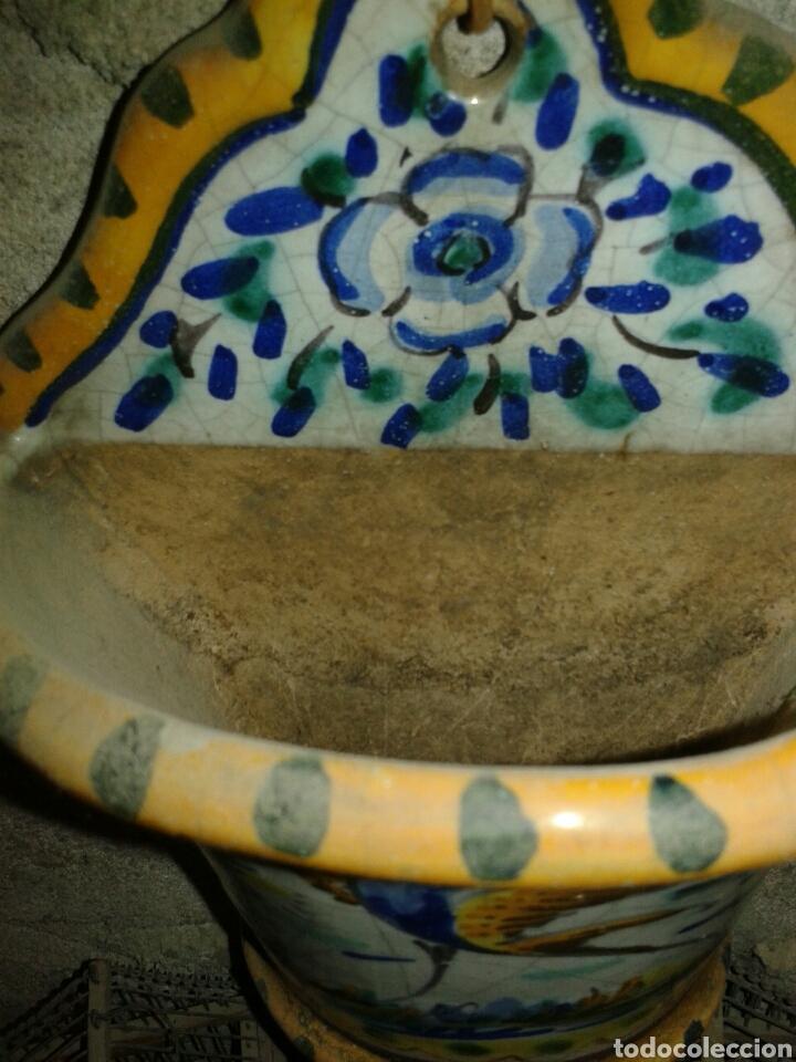 Antigüedades: MACETA CERAMICA DE TRIANA - Foto 4 - 91867235