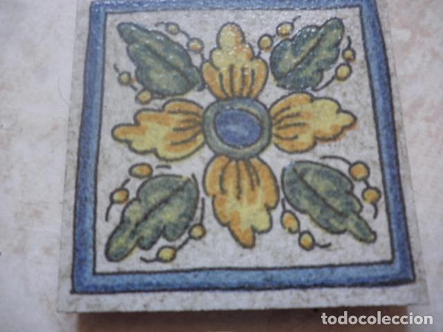 OLAMBRILLA DECORATIVA - MOTIVOS FLORALES - ABS (Antigüedades - Porcelanas y Cerámicas - Otras)