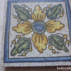 Antigüedades: OLAMBRILLA DECORATIVA - MOTIVOS FLORALES - ABS. Lote 110212706